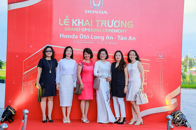 Những đại diện cho thương hiệu Honda Việt Nam